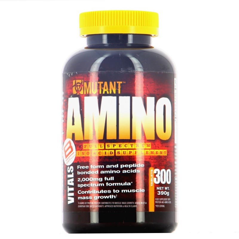 PVL MUTANT AMINO Construction musculaire