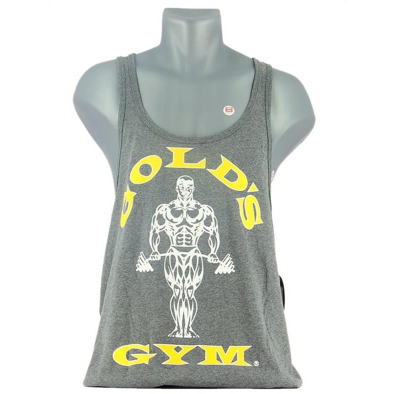 GOLD'S GYM MUSCLE JOE PREMIUM STRINGER Gris Vêtements et Accessoires GOLD'S GYM