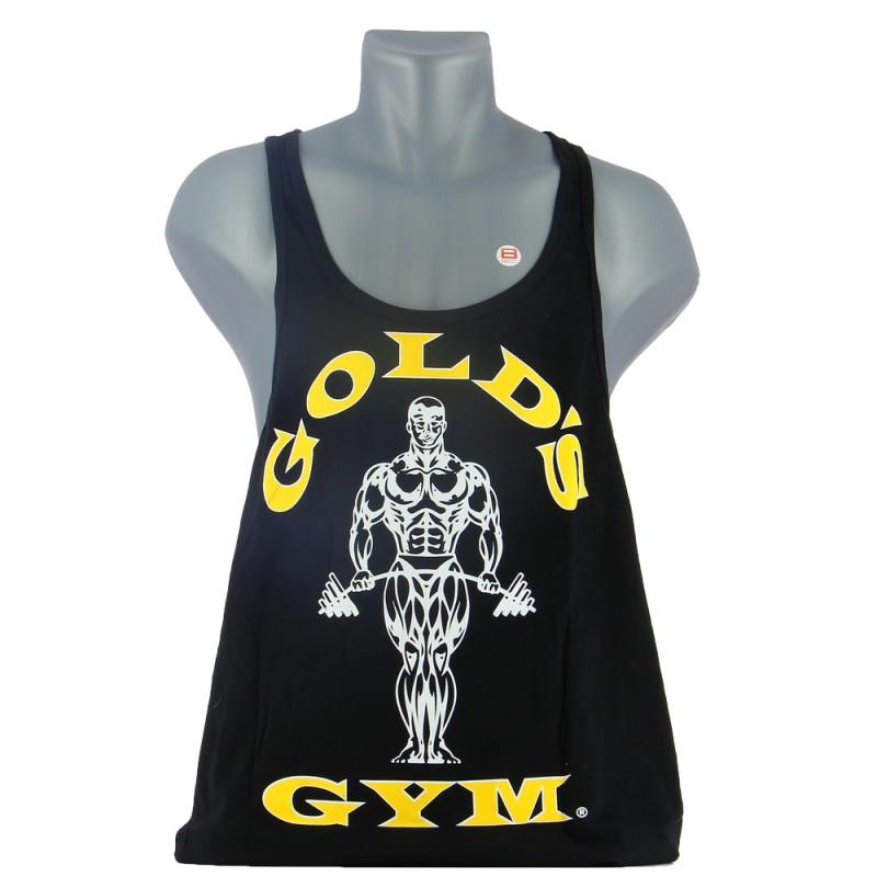 GOLD'S GYM MUSCLE JOE PREMIUM STRINGER Noir Vêtements et Accessoires GOLD'S GYM