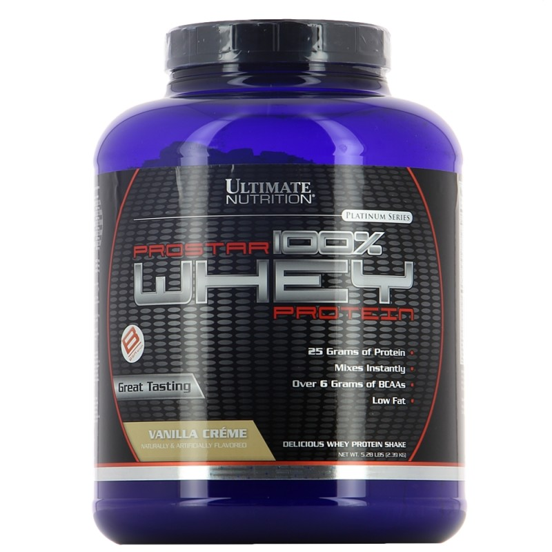 ULTIMATE PROSTAR 100% WHEY Construction musculaire ULTIMATE NUTRITION