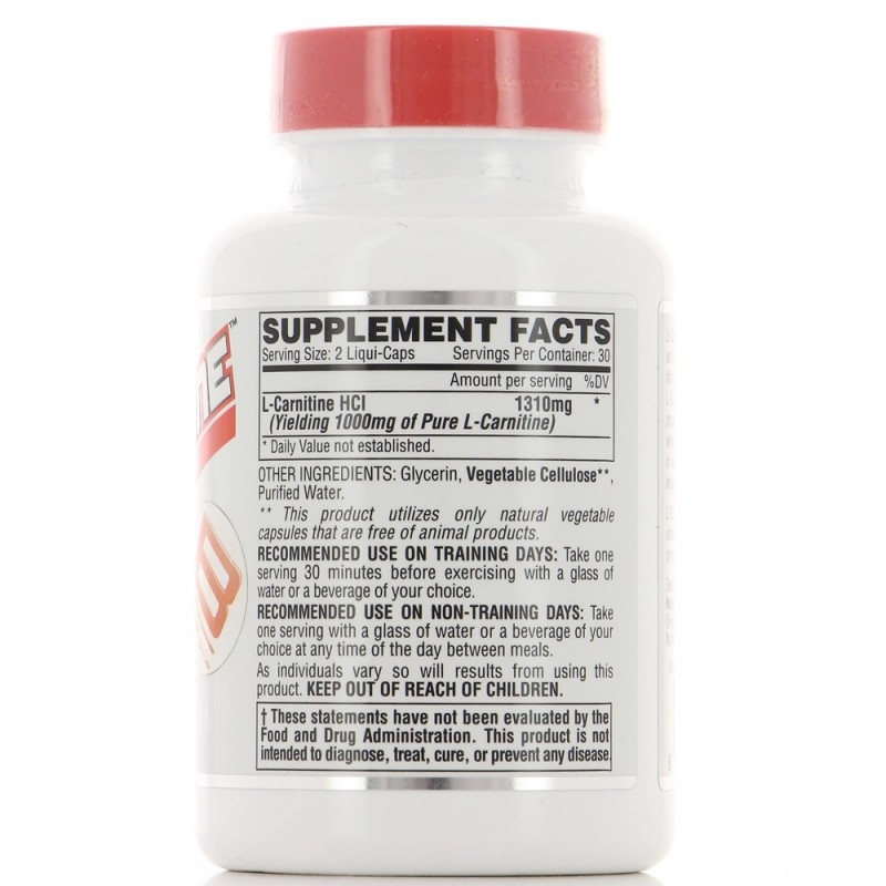 NUTREX LIPO6 L-CARNITINE Brûleur de graisse & produit Minceur NUTREX RESEARCH