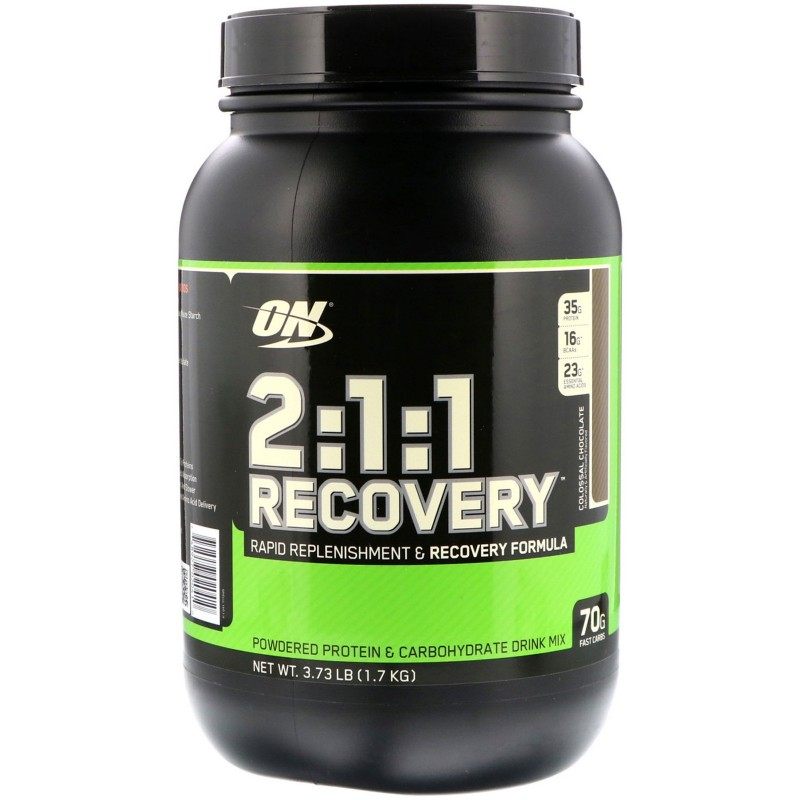 OPTIMUM 2:1:1 RECOVERY  Pendant Entraînement OPTIMUM NUTRITION