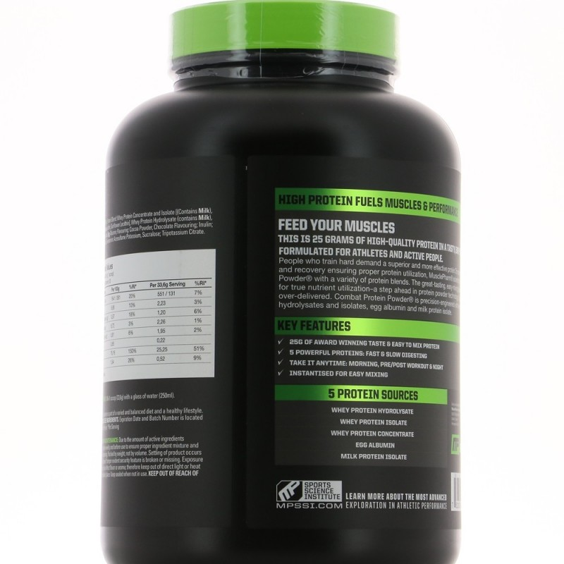 MUSCLEPHARM PROTEIN POWDER Construction musculaire