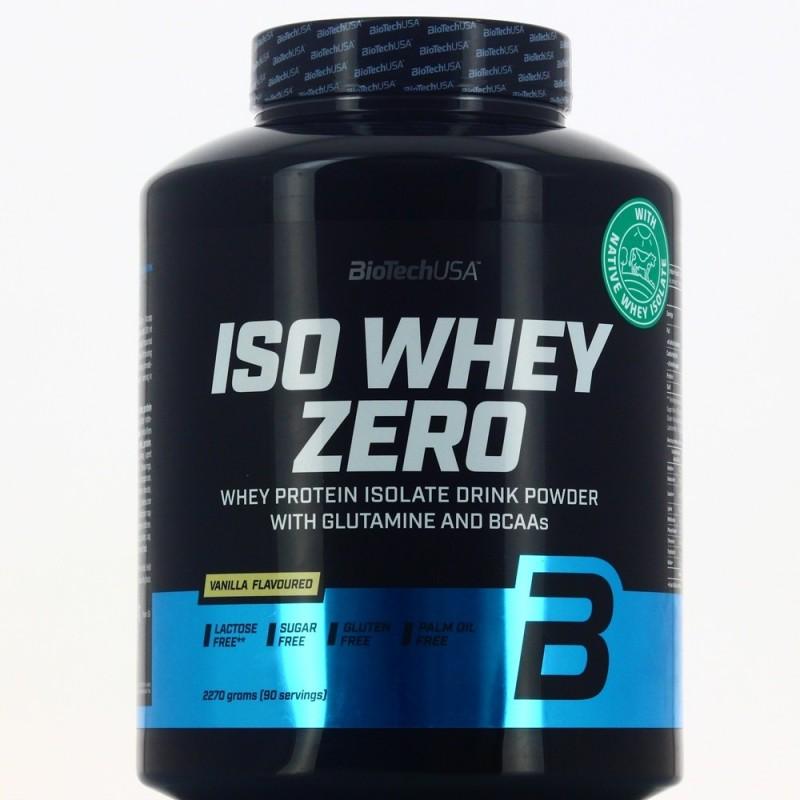 BIOTECH ISO WHEY ZERO Protéines Isolat BIOTECH USA