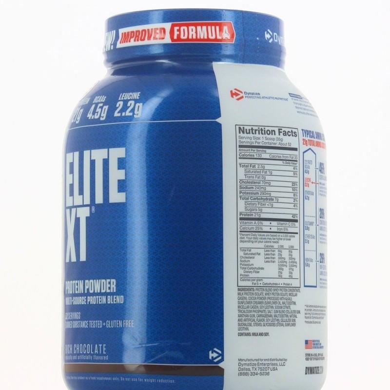 DYMATIZE ELITE XT Protéines Casein DYMATIZE
