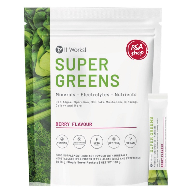 ITWORKS SUPERGREENS