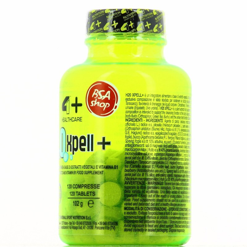 4+ NUTRITION H2O XPELL+