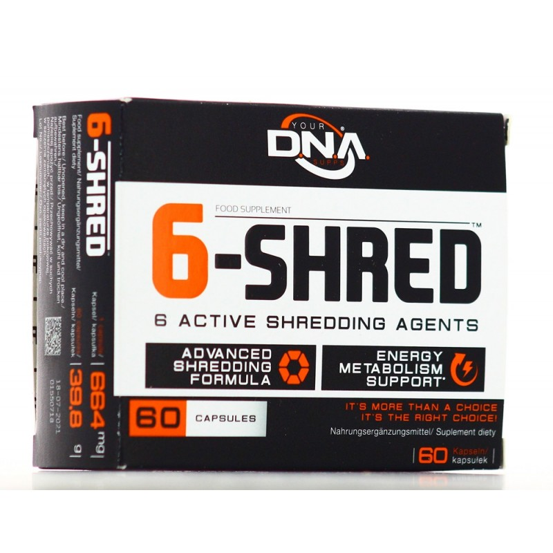 YOUR DNA SUPPS 6-SHRED