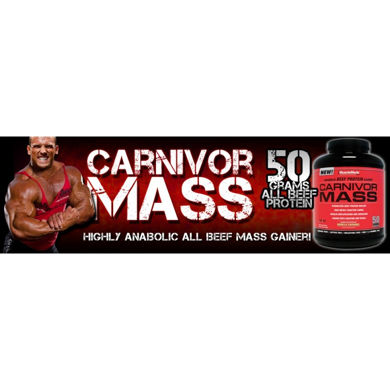 MUSCLEMEDS CARNIVOR MASS Construction musculaire MUSCLEMEDS