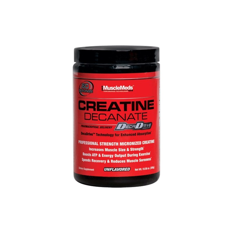 MUSCLEMEDS CREATINE DECANATE Créatine Monohydrate MUSCLEMEDS