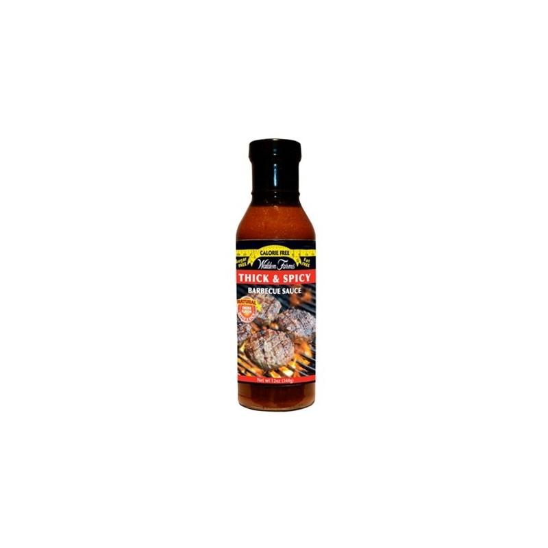WALDEN FARM Sauce Barbecue Thick'N Spicy Repas diététiques WALDEN FARM